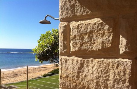 Sandstone products that have been used in Northern Beaches