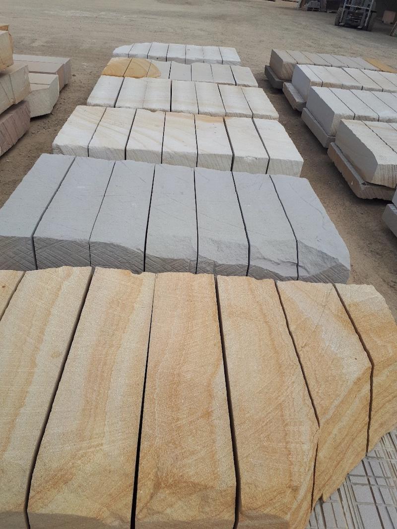sandstone quarry log colours