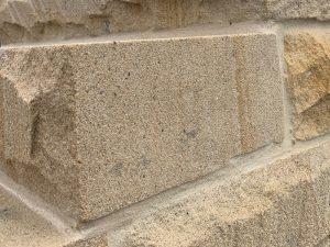 sandstone steps solid end honed