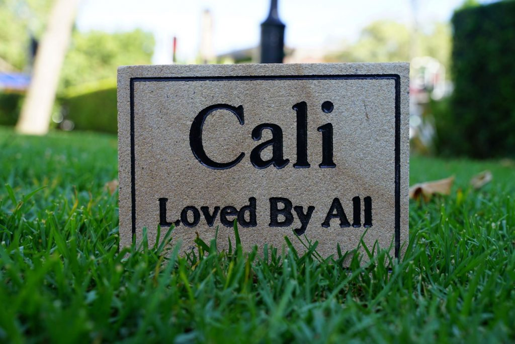 Small Sandstone Pet Memorial Sign